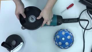 Кожух пылеотводящий (подходит к УШМ Makita 230mm) AVA 180M