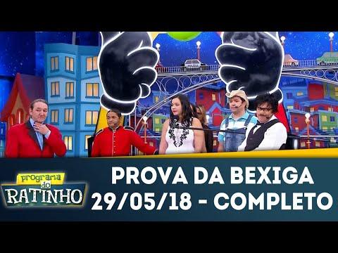 Prova Da Bexiga - Completo | Programa Do Ratinho (29/05/18)