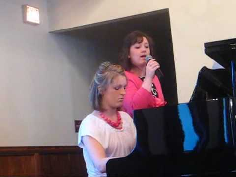 Jessica sings at Parkview Baptist  Livonia, Mi