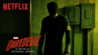 Marvels Daredevil  Hallway Fight Scene HD  Netflix