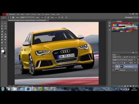 Photoshop Auto Farbe ändern OHNE EBENE schnell