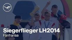 Fanhansa –Siegerflieger: Unsere Champions kommen nach Hause! | Lufthansa
