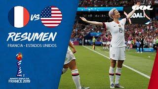 RESUMEN | Francia 1-2 Estados Unidos