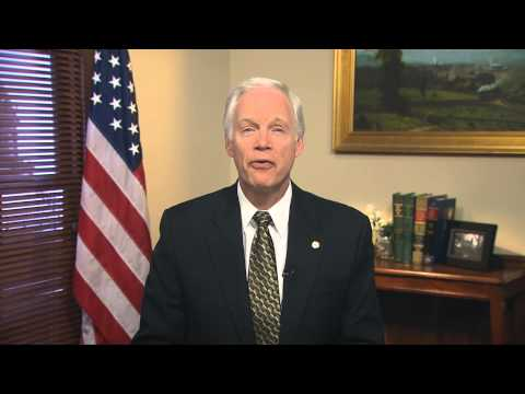 Greeting from Senator Ron Johnson