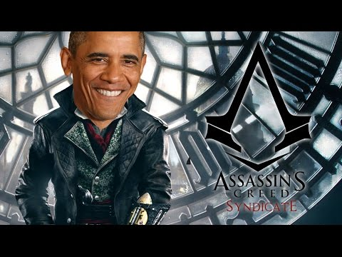 Obama Reveals Conspiracies (Assassin's Creed Syndicate - Gameplay)