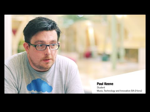 Paul Keene: Music, Technology and Innovation at De Montfort University