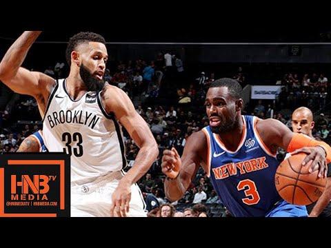 New York Knicks vs Brooklyn Nets 1st Qtr Highlights   03.10.2018, NBA Preseason