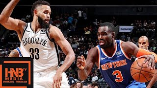 New York Knicks vs Brooklyn Nets 1st Qtr Highlights | 03.10.2018, NBA Preseason