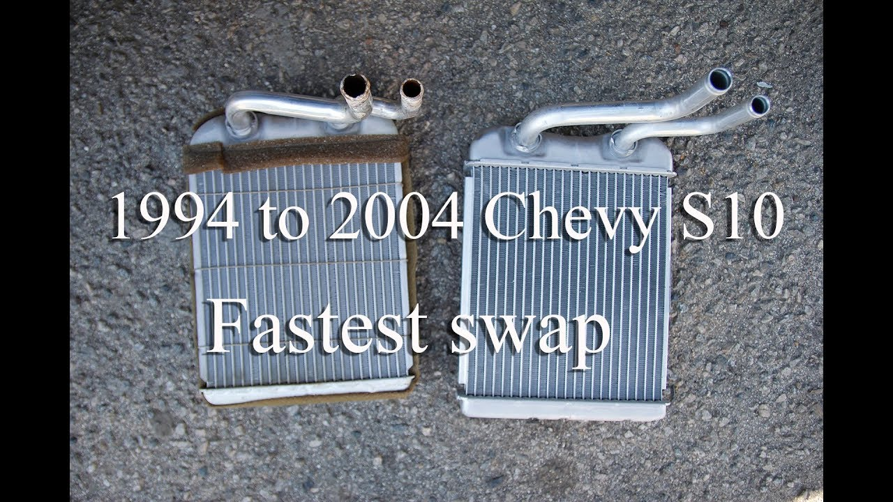 chevy s10 heater core **fastest fix**