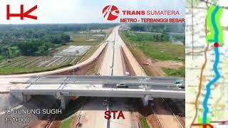 TRANS SUMATERA LAMPUNG - METRO - TERBANGGI BESAR - APRIL 2018