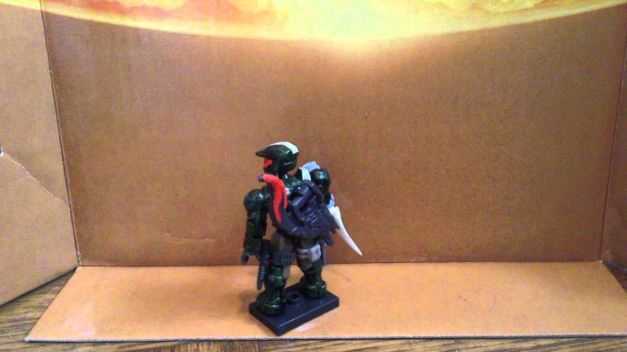 Halo Mega Bloks custom figures utah and texas review