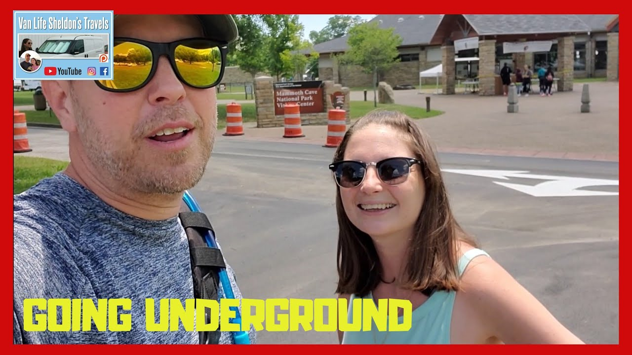 GOING UNDERGROUND, MAMMOTH CAVE NATIONAL PARK CAVE TOUR DURING THE PANDEMIC. CRAZY TRAVEL VANLIFE