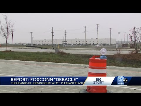 Report: Wisconsin Foxconn Project A 'debacle'