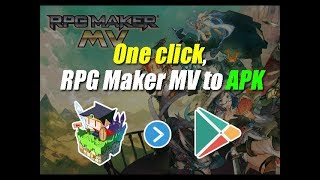 [INDISIDE] We can RPG Maker Convert MV to one click APK.(RPG MV APK변환)