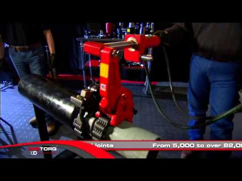 AutoTORQ Hydraulic Chain Pipe Wrench - YouTube