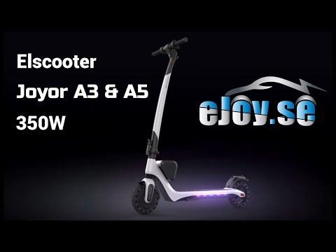 Elscooter Joyor A3 & A5