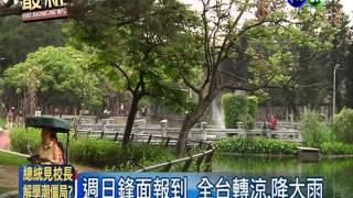 台北熱氣逼人 中午32.3度破紀錄