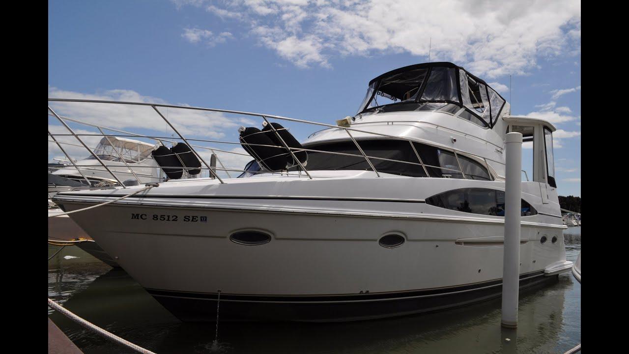 Motor Yacht: 2001 Carver 396 Motor Yacht -- SOLD