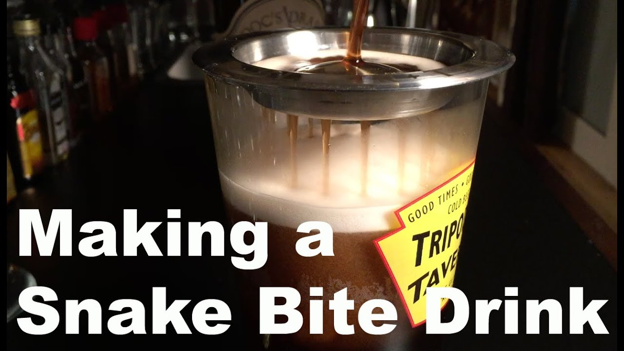 Snake Bite Drink - YouTube