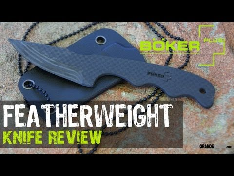Boker Plus Featherweight Neck Knife Review   OsoGrandeKnives