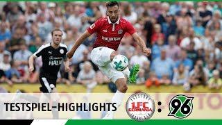 Testspiel-Highlights   1. FC Egestorf/Langreder - Hannover 96