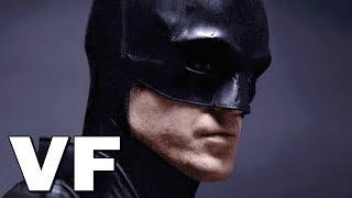 THE BATMAN Bande Annonce VF Teaser (4K ULTRA HD) Robert Pattinson
