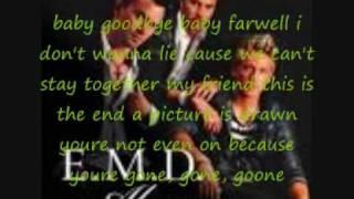 EMD baby goodbye lyrics