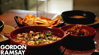 Spicy Mexican Soup with Tortillas & Salsa - Gordon Ramsay