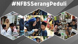 NFBS Serang Peduli [Trauma Healing] Korban Bencana Tsunami