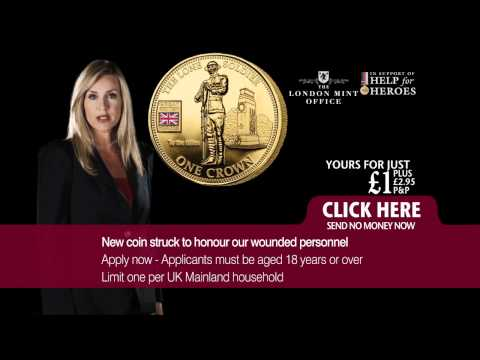 Help for Heroes - £1 Memorial Crown Coin