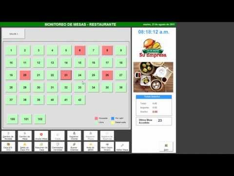 Sistema para restaurante modulo de caja youtube for Manual de restaurante pdf