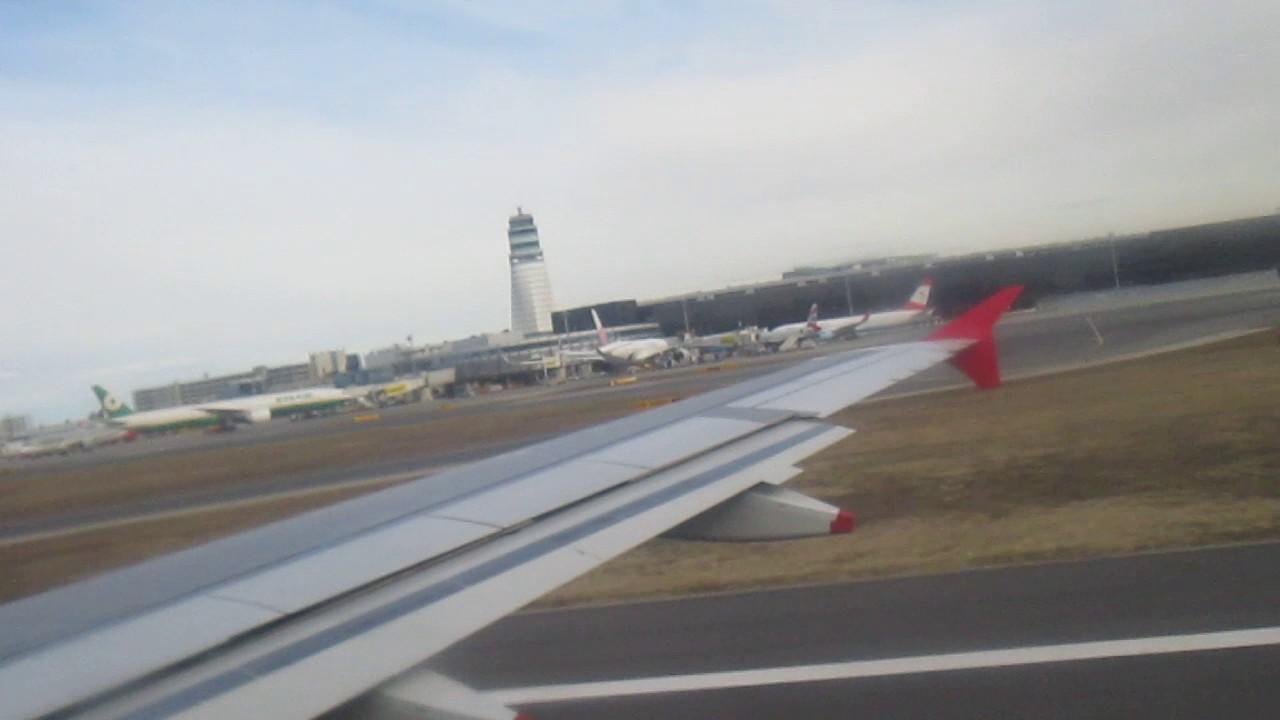 Abflug Von Hurghada Mit Den Airbus A319 Nach Wien Youtube
