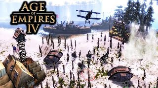 Age of Empires 4 Gameplay PC Mod for AoE 3