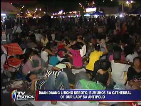 Thousands join Good Friday 'long march' to Antipolo