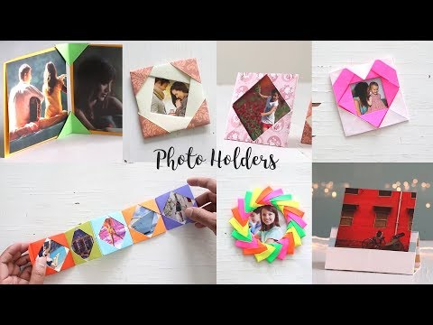 Easy DIY Photo Holders | Paper Craft Ideas | Art All The Way