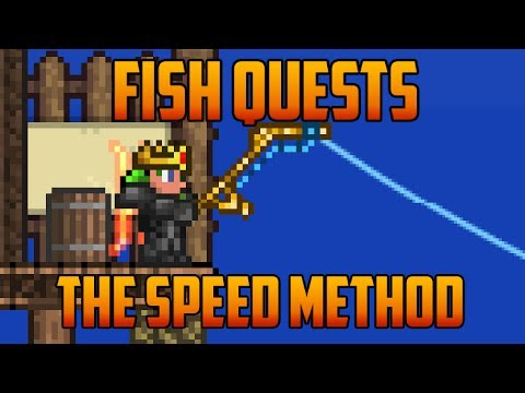 Terraria - Farming For Golden Fishing Rod