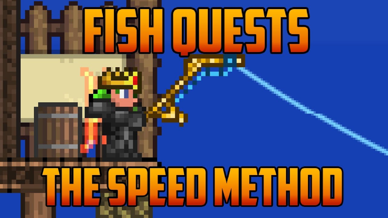 terraria farming for golden fishing rod youtube