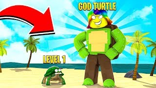 I am the BIGGEST TURTLE with 10,000,000 SIZE.. (Roblox)