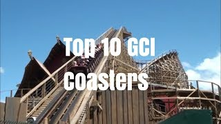 Top 10 GCI Coasters