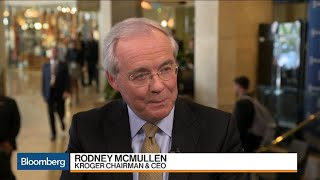 Kroger CEO on Walmart Competition, M&A, Inflation, Wages