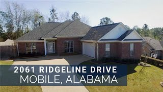 2061 Ridgeline Dr Mobile Al. 36695 Homes For Sale