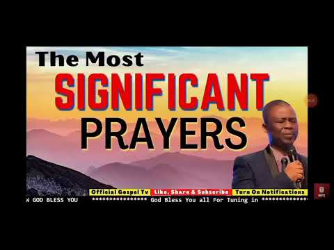 The most significant prayers with DR OLUKOYA
