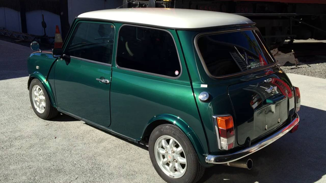 1997 Rover Mini Cooper British Racing Green Youtube