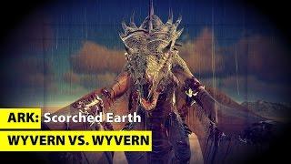 Wyvern - Wer ist der Stärkste | Lightning | Fire | Poison | Ark SE Scorched Earth - Gameplay #DGZ