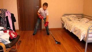 обучение элементам хоккея