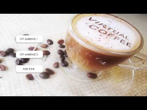 Virtual Coffee - Binaural Beats Energy Booster with City Sou