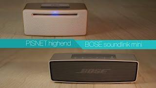 Bose Soundlink mini vs Pisnet …