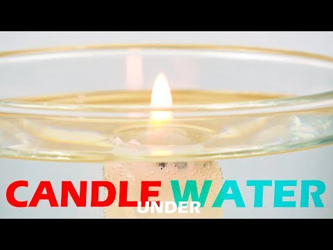 Under Water Candle Experiment | School Science Tricks