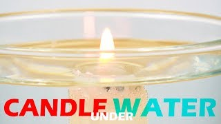 Under Water Candle Experiment   School Science Tricks