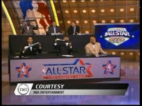 NBA on TNT Ultimate All Star fantasy draft with charles barkley the jet chris webber Full Show HQ